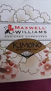 Maxwell Williams kimono tea cup and saucer Kelmscott Armadale Area Preview