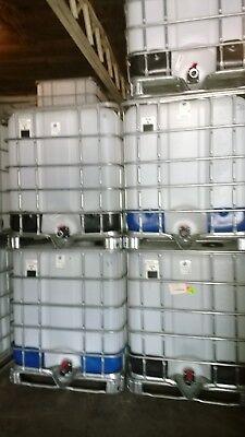 Schutz 275 Gallon Food Grade Ibc Tote Liquid Storage Tank Bulk Container
