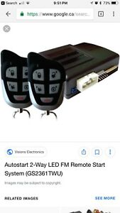 Remote starter installation auto start pro start