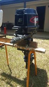 25 evinrude short shaft outboard