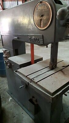 Doall Band Saw Model 36-3