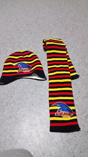 adelaide crows baby set