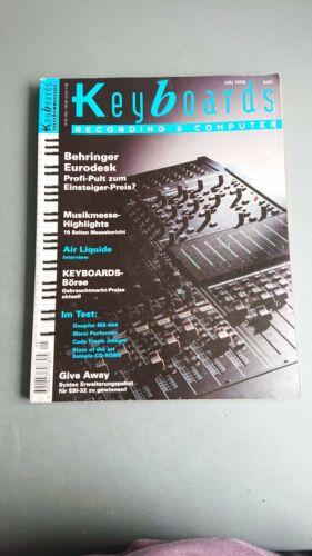 Keyboards Computer und Recording