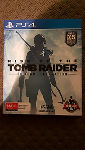 Rise of the Tomb Raider 20 year celebration PS4 West Croydon Charles Sturt Area Preview