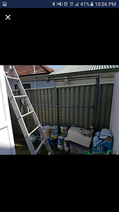 Charcoal fold away clothes line Yowie Bay Sutherland Area Preview
