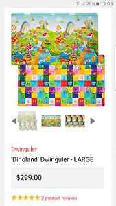 Baby's soft mat 'Dinoland' Dwinguler - LARGE Castle Hill The Hills District Preview