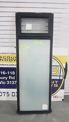 Aluminium Awning Window 1840H x 650W (Item 5086/9) Black