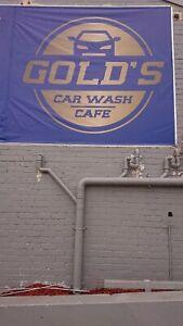 Gold's carwash