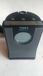Timex T436B Indiglo Night Light Projection Alarm Clock AM/FM Radio Nature Sounds