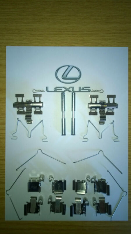 Lexus GS GS300 GS430 Aristo 98-05 FRONT & REAR Brake Pad Disc Spring Fitting Kit