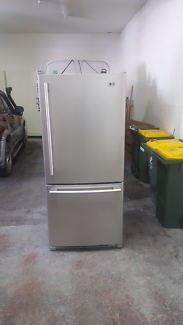 589L LG Stainless Fridge/Freezer - Delivery Available