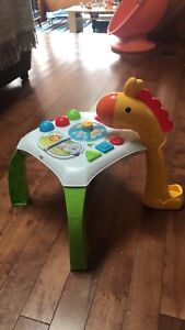 Fisher price activity table for babies