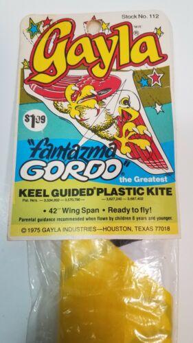 Vintage Fantazma Gordo  The Greatest Gayla kite 1975 stock #