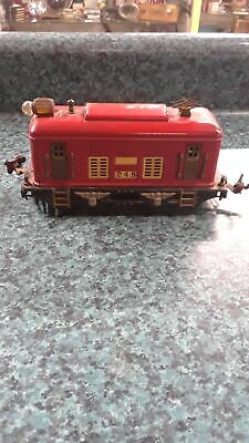 VTG PRE-WAR RED #248 TRAIN ENGINE ELECTRIC LIONEL LOCOMOTIVE ORIGINAL