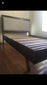 Scandinavian Modern Double Bed frame