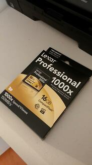 GENUINE Lexar 16GB Professional 1000X Compact Flash CF 150MB/s Liverpool Liverpool Area Preview