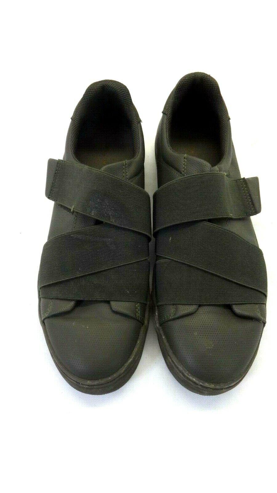 nuevo estilo 25210 12360 Detalles de Zara Man Negro de Hombre & Gris Zapatillas Elástico Cruzado  Correas 41 Derecho