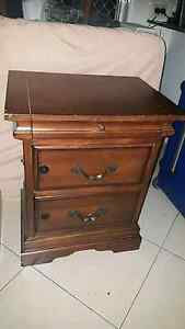 FOR SALE 1x Large Childproof Bedside table Solid Wood Runaway Bay Gold Coast North Preview