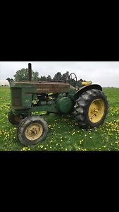 Looking for old john deere tractors