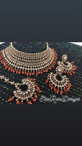 Affordable Gold Plated Kundan and Polki jewellery available