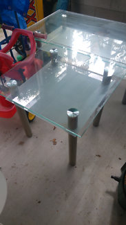 Glass coffee table set Virginia Brisbane North East Preview