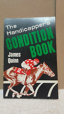 Handicapper's condition book: By James Quinn Paperback – 1981