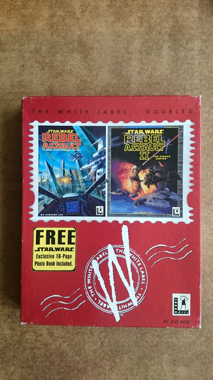 Star Wars Rebel Assault & Rebel Assault 2 (PC Windows 1994)  Big Box Edition