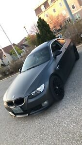 2007 Bmw 328i Wrapped MATTE METALLIC BLACK
