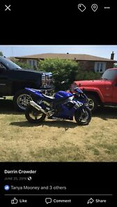 2003 Yamaha R1 $5000 or trade for Honda car or 600cc bike.