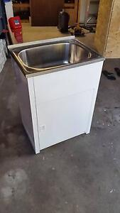 Everhard 45L Laundry Trough and Cabinet Caringbah Sutherland Area Preview