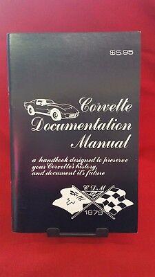 Usado, 1979 CORVETTE DOCUMENTATION MANUAL C3 79 *PRESERVE YOUR CORVETTE'S HISTORY comprar usado  Enviando para Brazil
