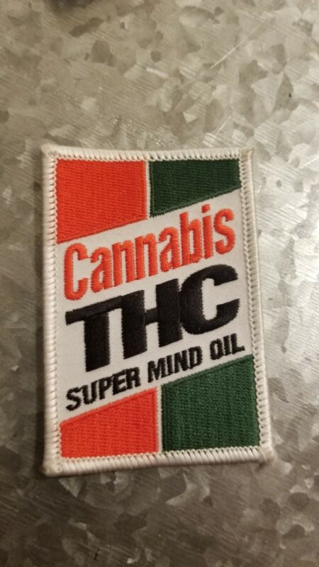 """Cannabis THC 3"""" Embroidered Patch"""