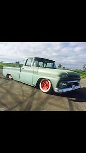 Gmc v8 pick up ute drag show 1962 Mill Park Whittlesea Area Preview