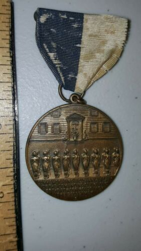 VINTAGE 1925 MEDAL SECOND COMPANY CONNECTICUT GOVERNORS FOOT GUARD NEW HAVEN