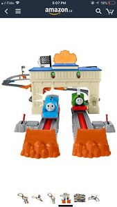 Thomas and Friends Trackmaster, Thomas and Percy's railway race
