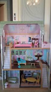 IMAGINARIUM WOODEN DOLL HOUSE & FURNITURE Morley Bayswater Area Preview