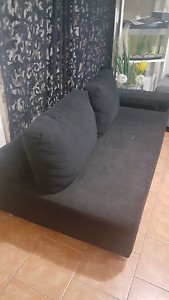 Black couches Chester Hill Bankstown Area Preview