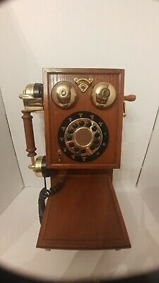 Country Kitchen Wall Phone - Nostalgic Replica Country Kitchen Wiod Wall Phone. Works 1100314