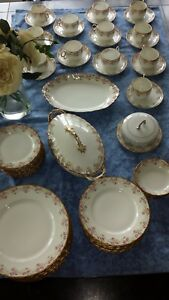 Lovely dinnerware set of Elite Works from Limoges, France
