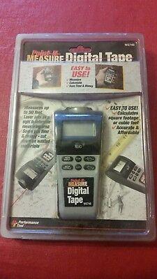 New Point N Measure Performance Tools Laser Digital Tape Measure W5746