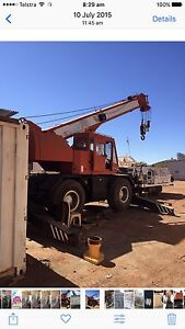 4x4 all terrain Tandano crane Newman East Pilbara Area Preview