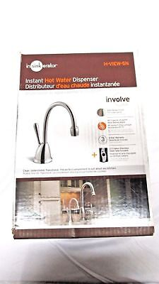 - Insinkerator H-ViewSN Involve View 1-Handle Hot Water Dispenser Satin Nickel