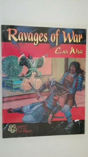 Clan War Legend of the Five Rings Ravages of War  Book