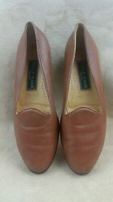 a6bb7f77cb1 vtg women s loafers ivory leather sz 7 5 B sharon sue in original box