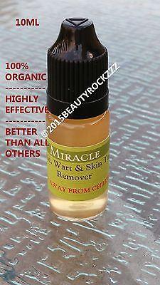 10ml Mole, Skin Tag, Wart Remover *BEST SELLING on Ebay  (It