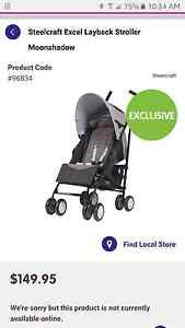 Steelcraft excel layback stroller Frenchs Forest Warringah Area Preview
