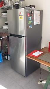 Samsung 320L stainless steel fridge / freezer - 3 years old O'Connor North Canberra Preview