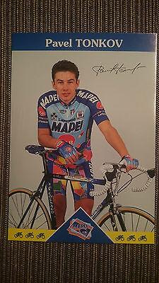 AK m.Druck.AG Pavel Tonkov Team Mapei 1997 Rarität