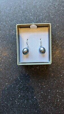 Honora Silver Pearl Drop Earrings BNIB Never Used