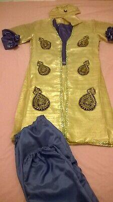 Aladdin Alibaba & Forty Thieves/ Sheikh/ Bongo Bandit full costume king/ prince